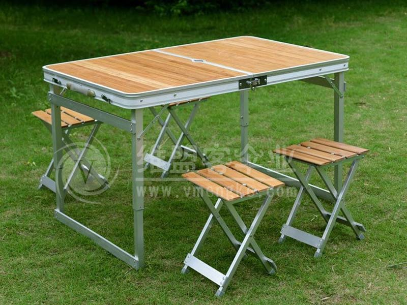 竹面折叠桌椅 休闲家具2