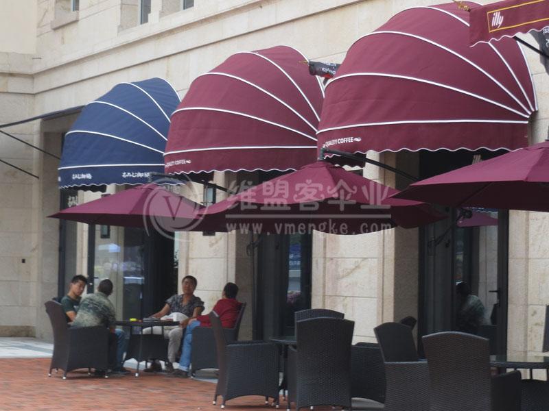 西餐厅遮阳篷2