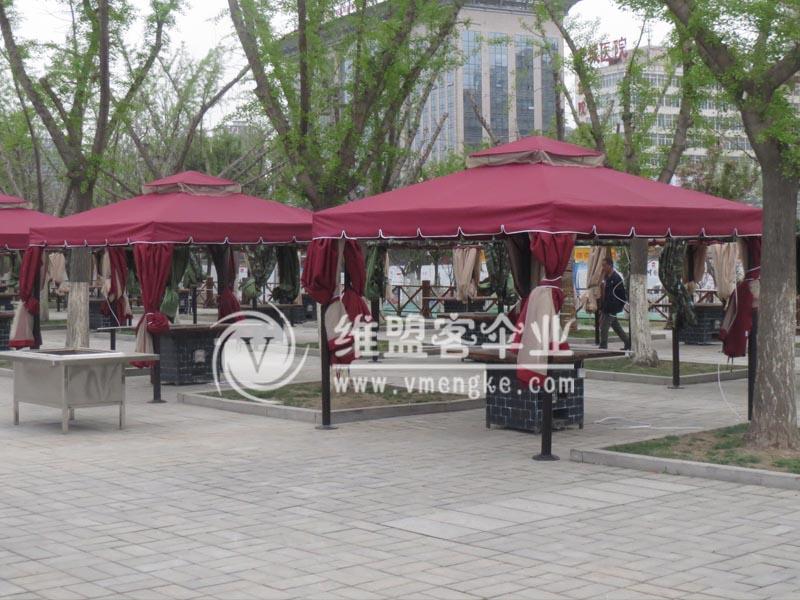 花园别墅帐篷凉亭2