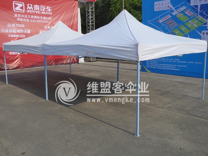 白色广告帐篷2