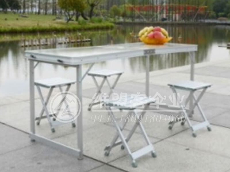 折叠桌椅  广告桌2