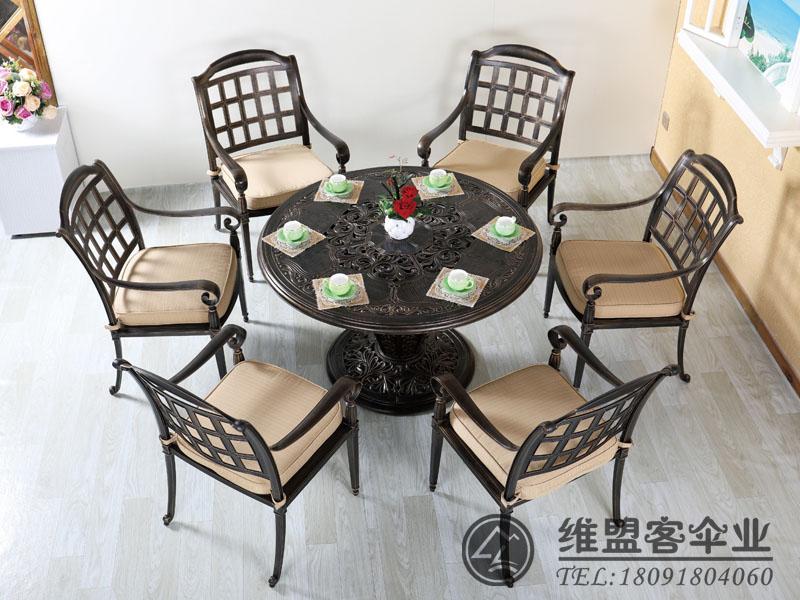 铁艺花园家具  阳台家具 露台桌椅2